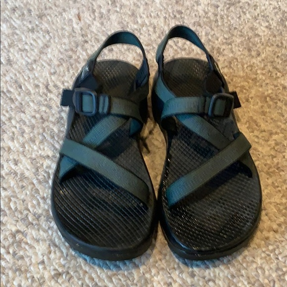 Chaco green & blue Unaweep H20 sport trail sandals
